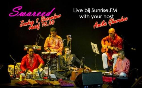 Swareed live bij SunriseFM